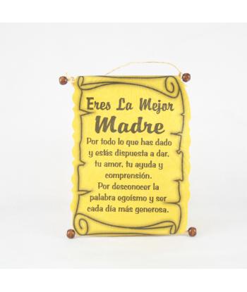Diploma dedicatoria Madre